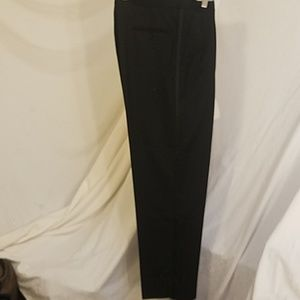 Final HART SCHAFFNER MARX Black Wool Tuxedo Pants